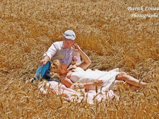 Mariage de Jeanine et Patrice le 8 juillet à Noyen sur Sarthe