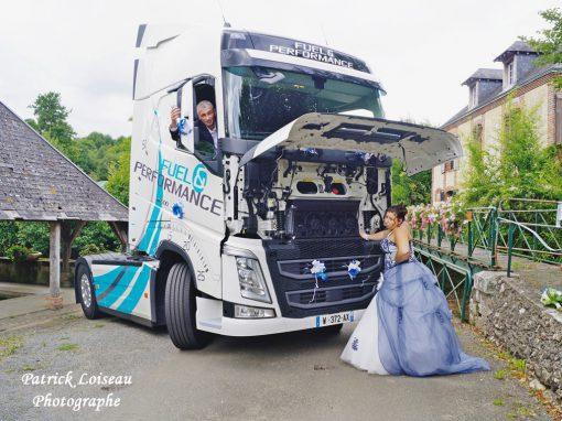 Mariage de Delphine et Arnaud                                       le 19 Août à BERFAY