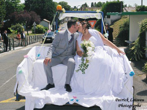 Mariage de Angélique et Cyril le 29 juillet à Civray en Touraine