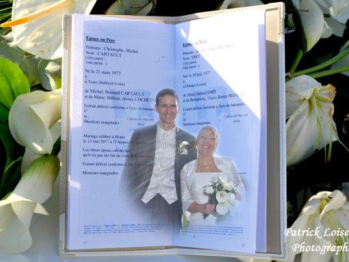 Mariage de Karine et Christophe le 13 mai à MONTS