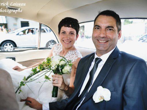Mariage de Lucie et Stéphane le 26août à ARTANNES